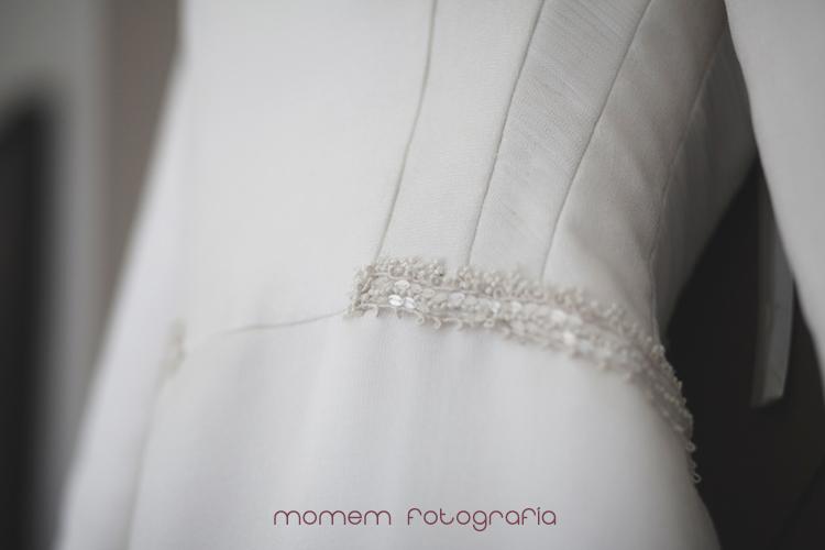 detalle cintura vestido novia-fotografías de boda