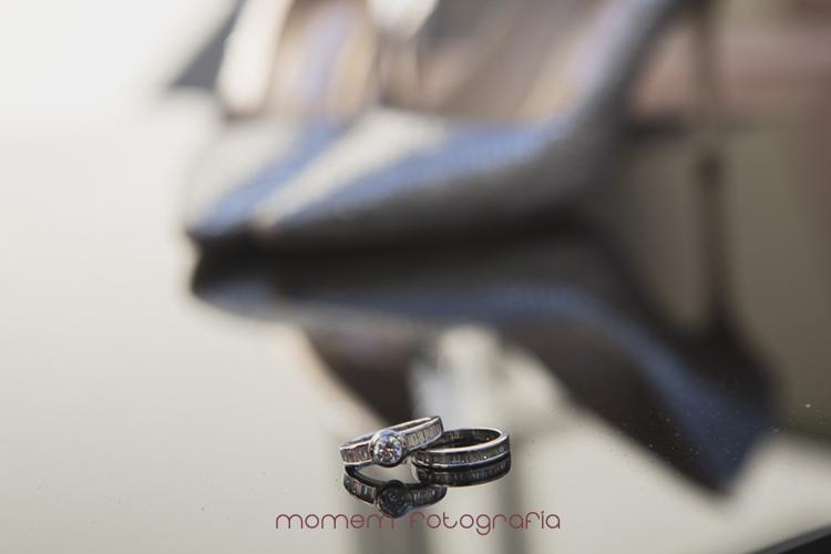 alianzas novios-fotografías de boda