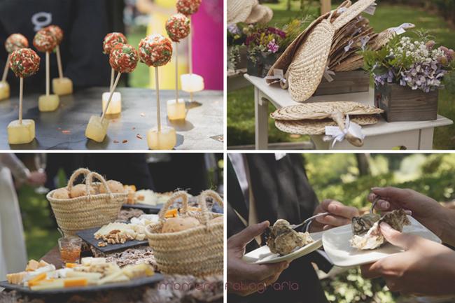 detalles decoración y de catering de la boda-Fotografías de boda